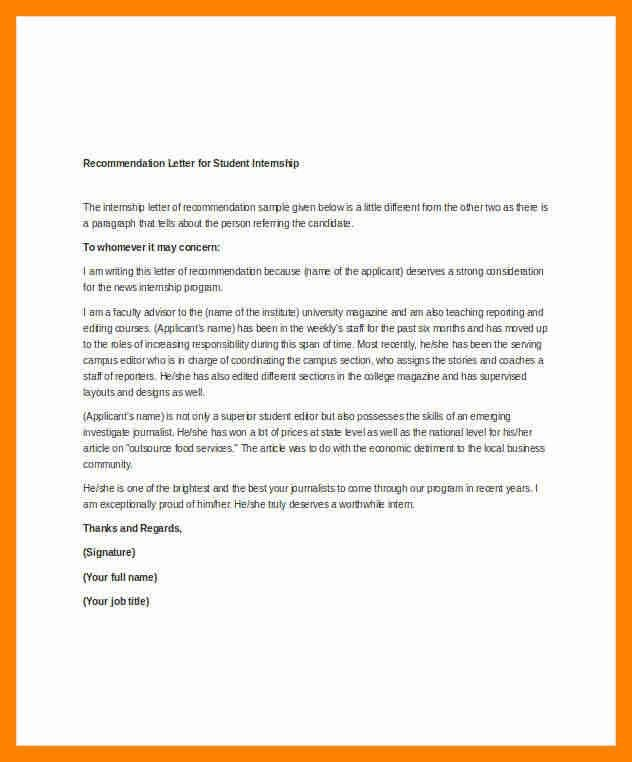 10+ simple reference letter | resumes great