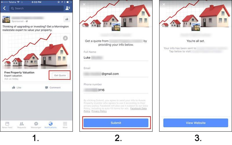 How to get Real Estate Leads with Facebook Lead Ads