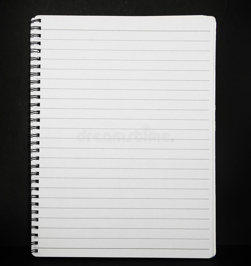 Note Pad Lined Paper Stock Photo - Image: 17038470