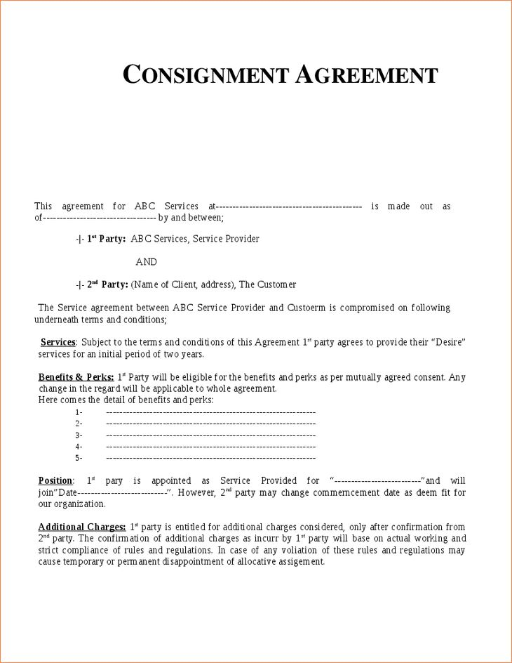 5+ consignment agreement templateReport Template Document | report ...