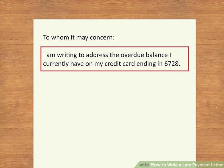 How to Write a Late Payment Letter: 9 Steps (with Pictures)