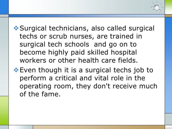 A rewarding career at surgical tech schools