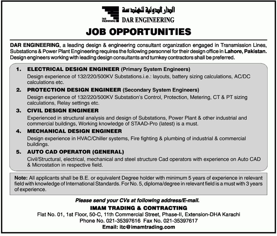 nisreen agha industrial engineer. newspaper jobs c. civil ...