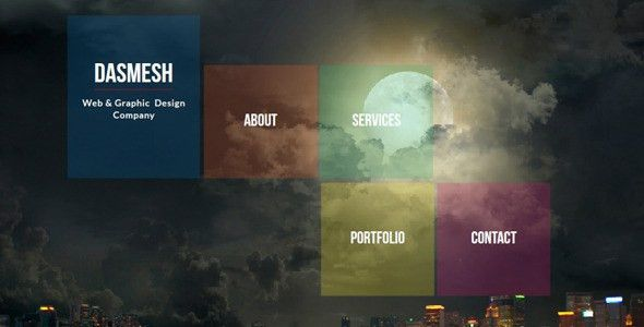 Portfolio Website Templates from ThemeForest