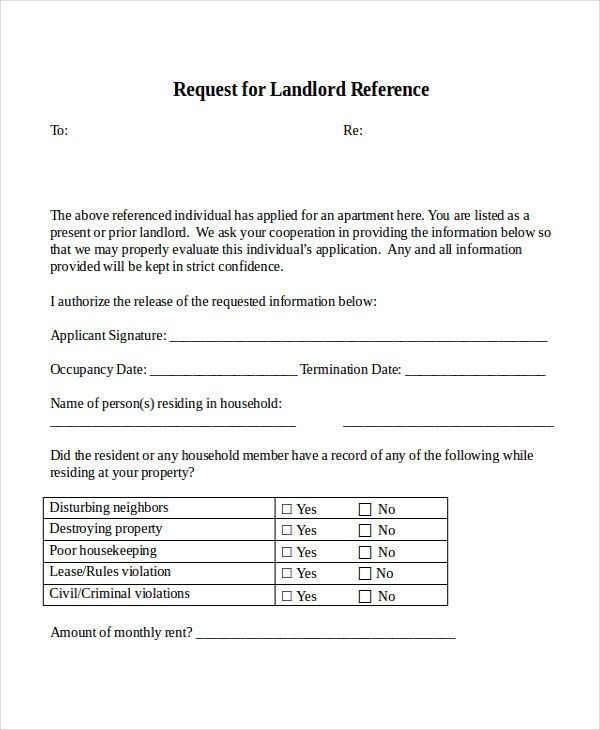 12+ Reference Letter Templates - Free Sample, Example, Format ...