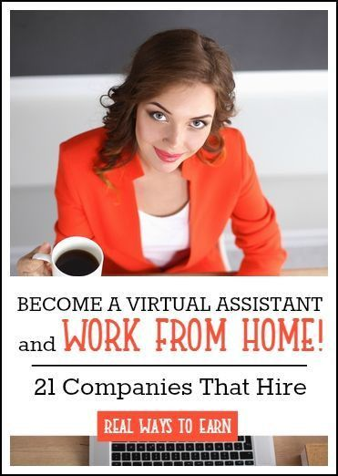 21 Work at Home Virtual Assistant Jobs To Apply For Today!