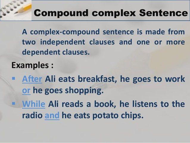Sentances