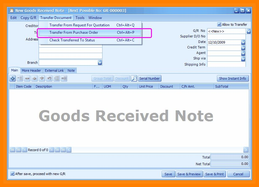 6+ goods received note format | formatting letter