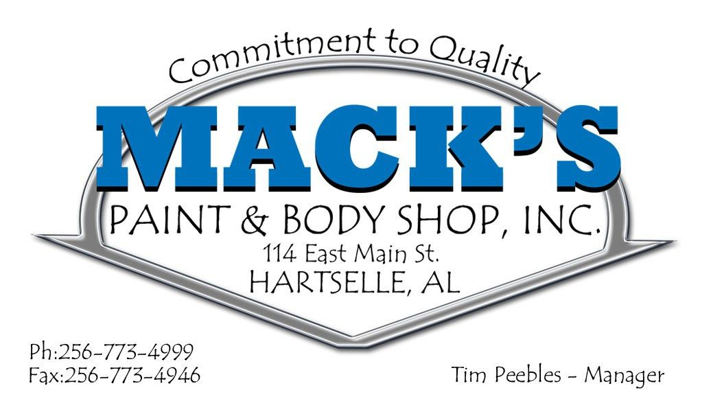 Mission - Mack's Paint And Body Shop