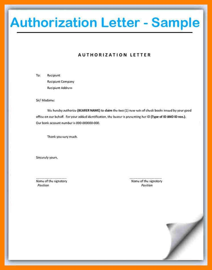 9+ how to write authority letter | emt resume