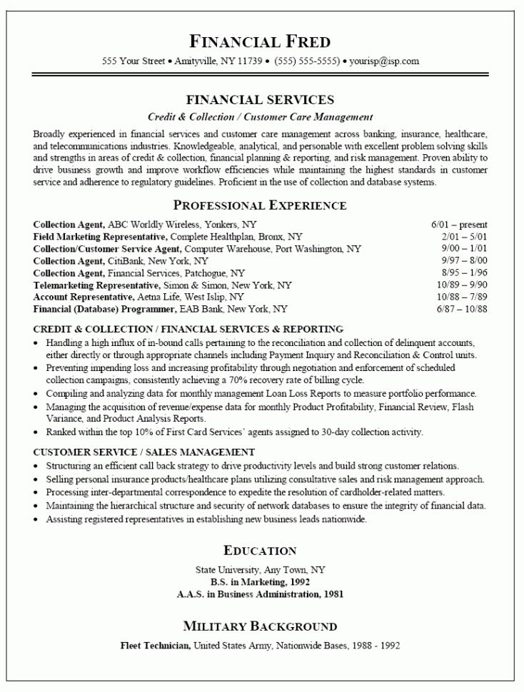 Hospitality Management Resume Objective Resume Template for ...