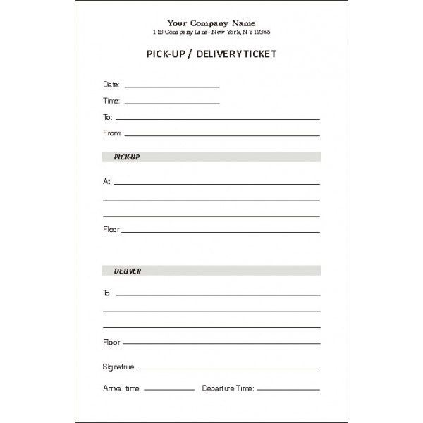 Hand Delivery Receipt Delivery Receipt Template 10 Free Sample – Sample Delivery Receipt