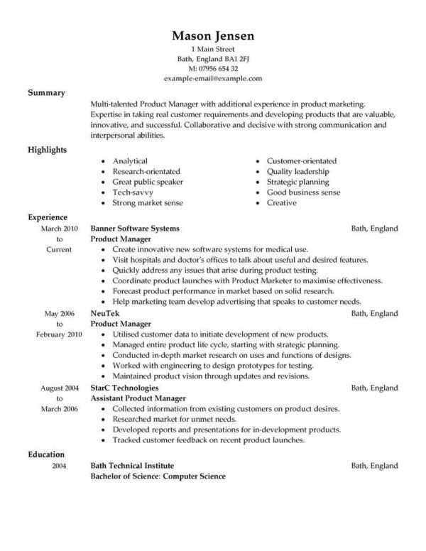 retail store manager resume example profile experience 17 best ...