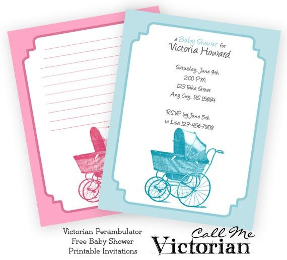 Printable Baby Shower Invitation Cards | THERUNTIME.COM