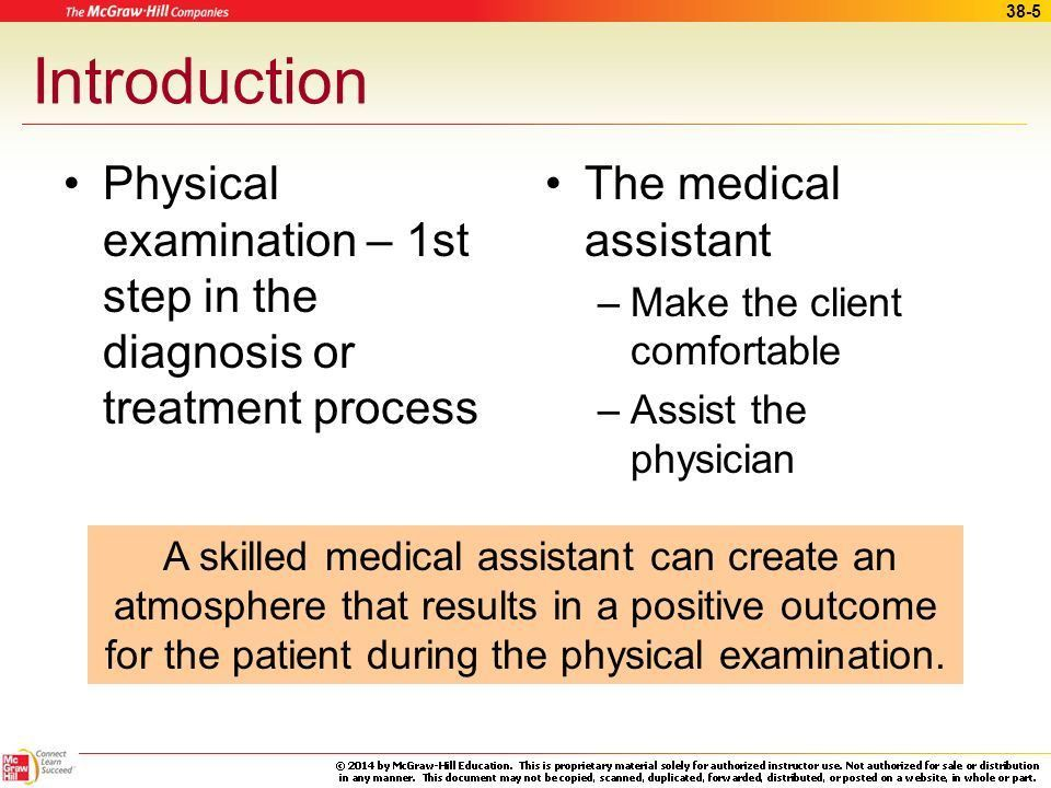 Assisting with General Physical Examination - ppt download
