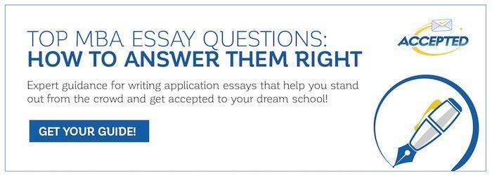 MBA Sample Essays