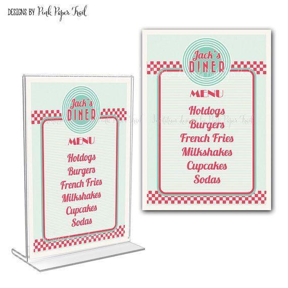 Best 25+ Diner menu ideas only on Pinterest | Menu design ...