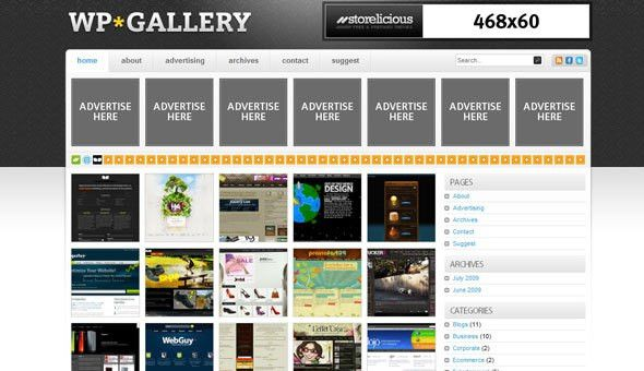 WP Gallery - Storelicious Wordpress Template » THEMELOCK.COM ...