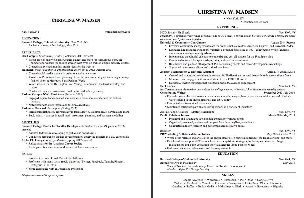 Fashionable Idea How To Make Your Resume 14 How To Make Your ...