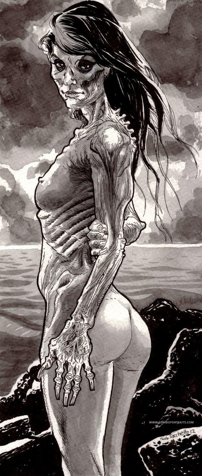 Zombie girl cocksucking porn videos
