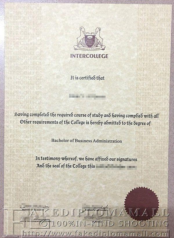 Cyprus International University degree, Intercollege degree_Buy ...