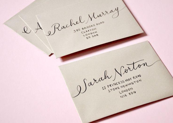 Wedding Invitation Envelopes - Kawaiitheo.Com