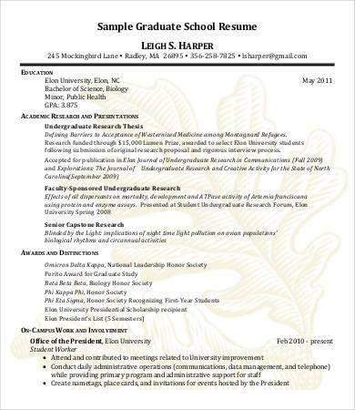 High School Graduate Resume - 7+ Free Word, PDF Documents Download ...