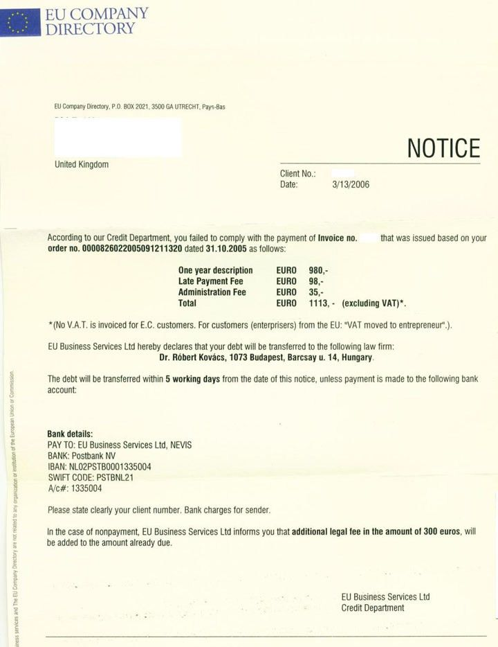 Late Payment Reminder Letter Template Word Format – Excel ...