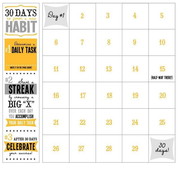 Workout Calendar Template. Printable Workout Calendar | Activity ...