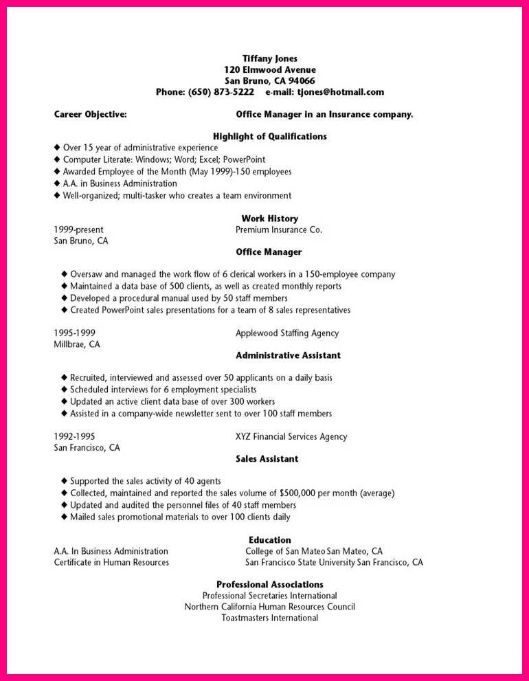 12 Resume Templates For Highschool Students
