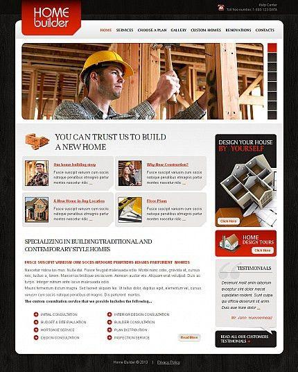 35+ Building Company Website Templates - SixthlifeSixthlife