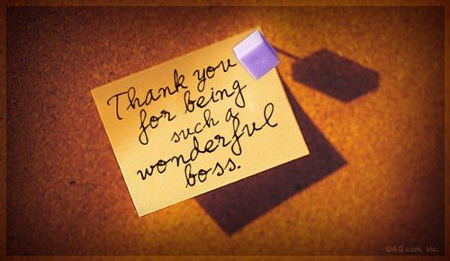 Boss Day Quotes and Sayings for Thank You and Appreciation