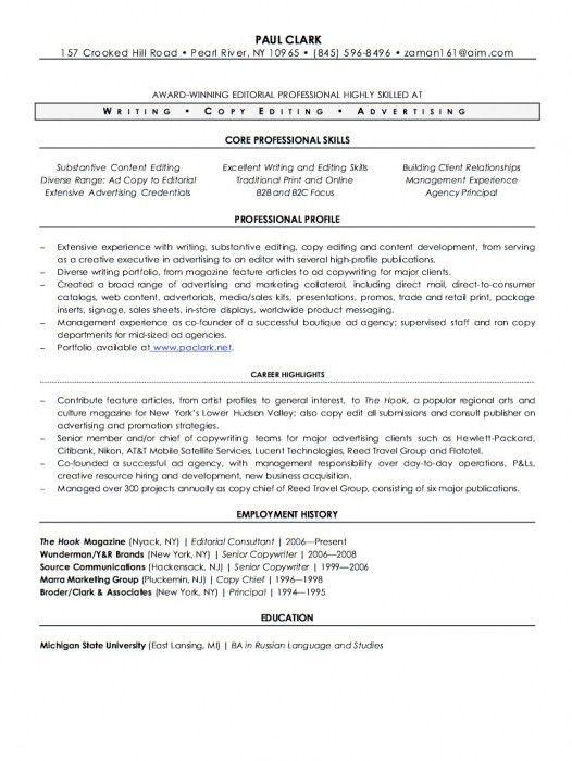 incredible freelance writer resume sample resume format web - Freelance Writer Resume Sample