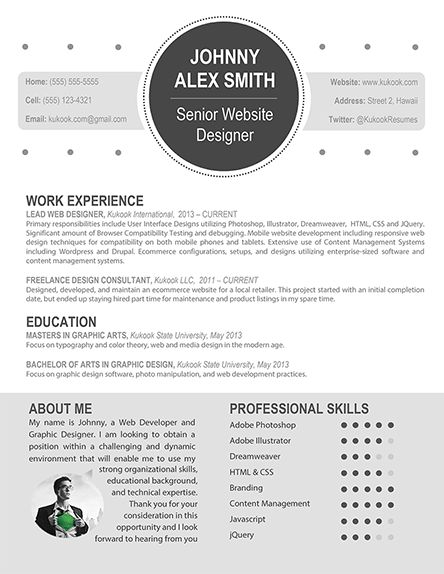 Resume Examples. modern professional resume templates free best ...
