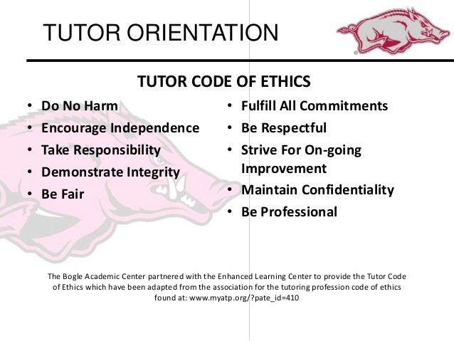 Spring 2015 tutor orientation presentation