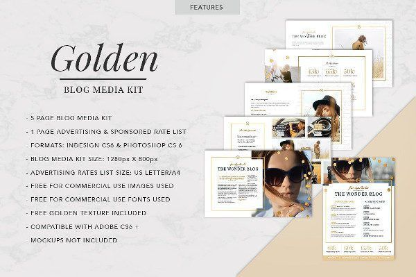 Media Kit Template - 20+ Free PSD, AI, EPS, Format Download