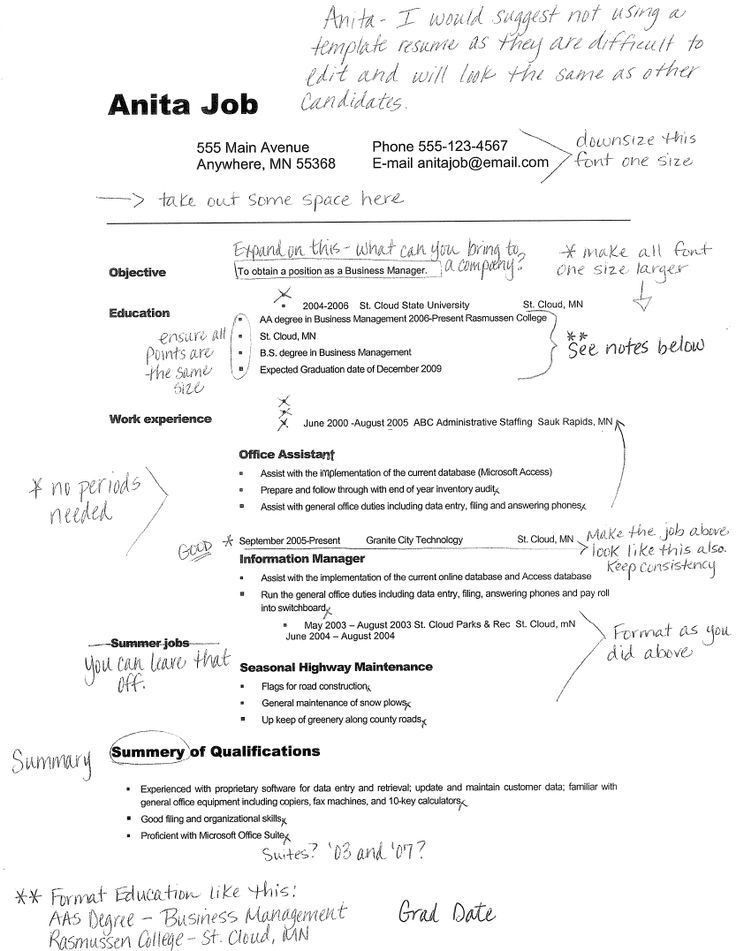 Download Examples Of Good Resumes For College Students ...