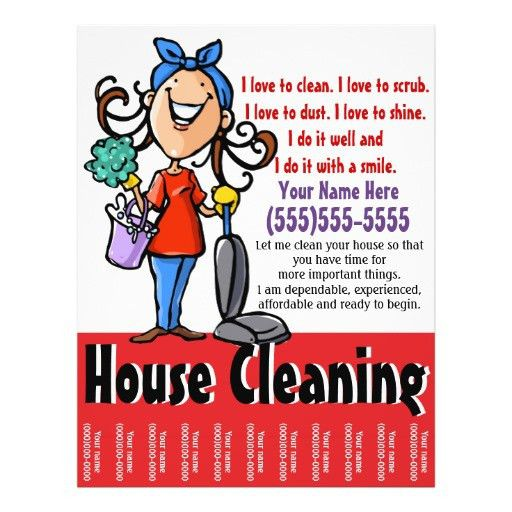 House Cleaning Marketing flyer | Cleaning, House and Cleaning business