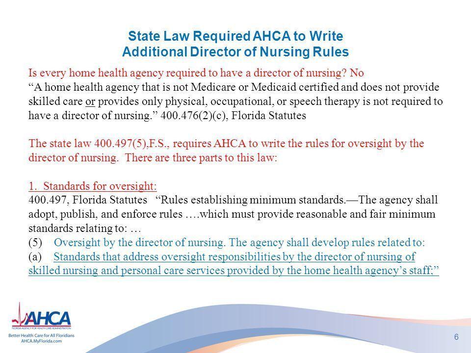 AHCA Home Health Regulatory Update Anne Menard Home Care Unit ...