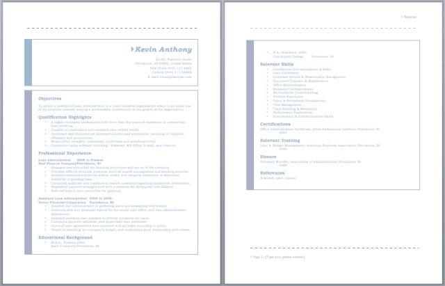 Loan Processor Resume – Sample Resumes