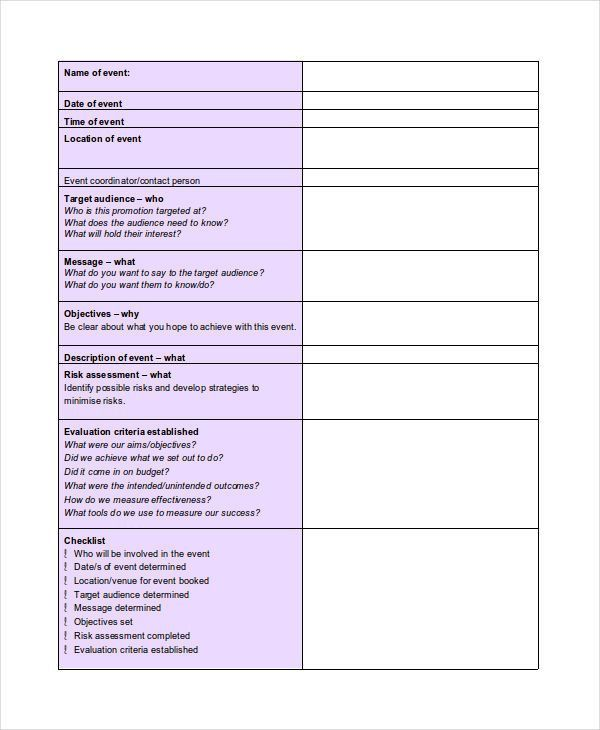 Event Agenda Sample. Best Blank Agenda Form Images - Office Worker ...