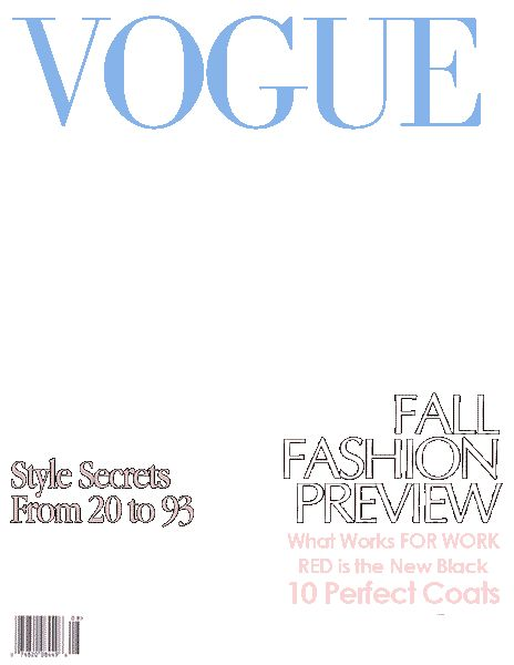 Magazine Cover Template | eknom-jo