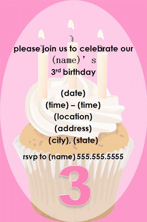 Invitation Information Template - Invitation Template
