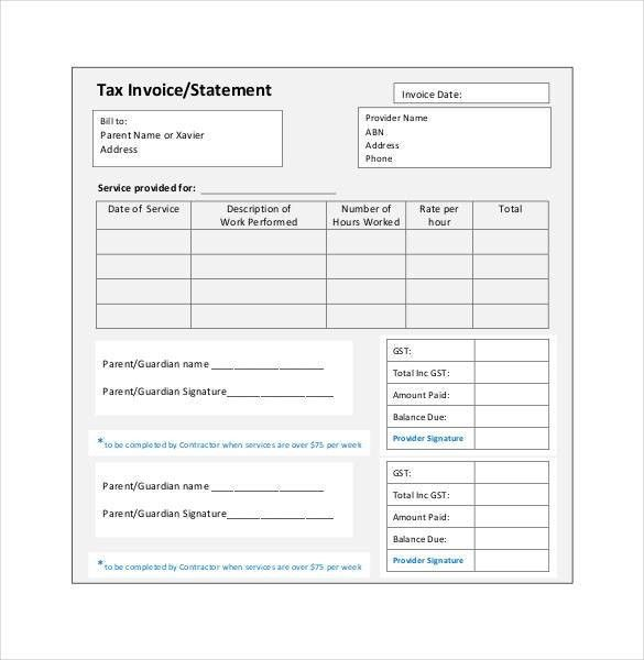Microsoft Invoice Template - 54+ Free Word, Excel, PDF | Free ...