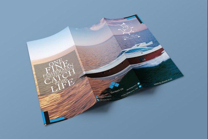 Free Tri Fold Brochure Mockup PSD - Creative Genie