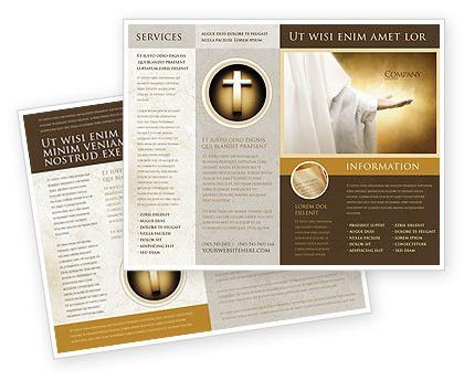 Religion Brochure Templates, Design and Layouts | PoweredTemplate.com