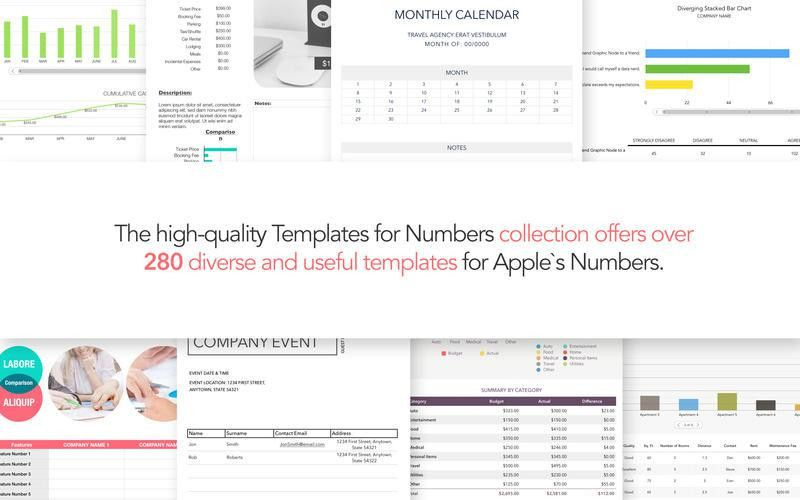 DesiGN Templates for Numbers Download Mac