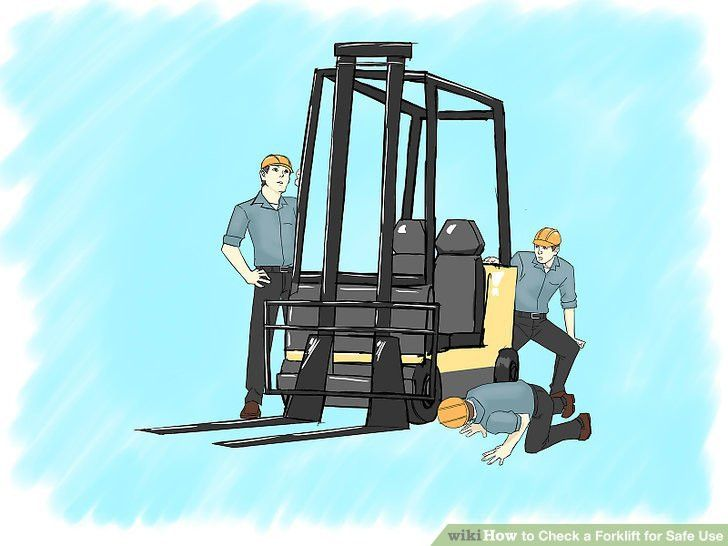 How to Check a Forklift for Safe Use: 9 Steps (with Pictures)