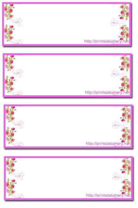 free printable address labels 6
