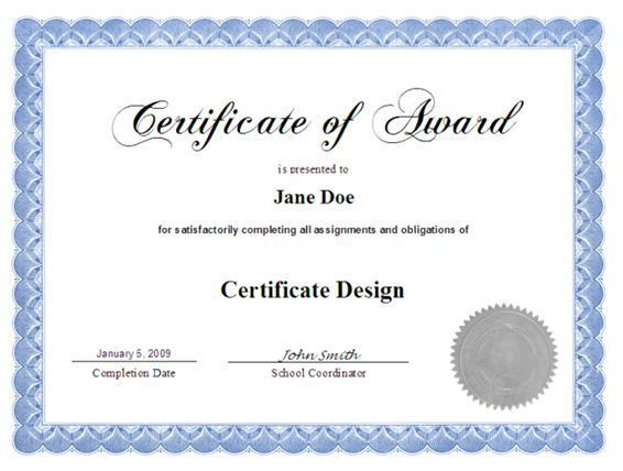 15+ Certificate Designs for Your Inspiration | Certificate design